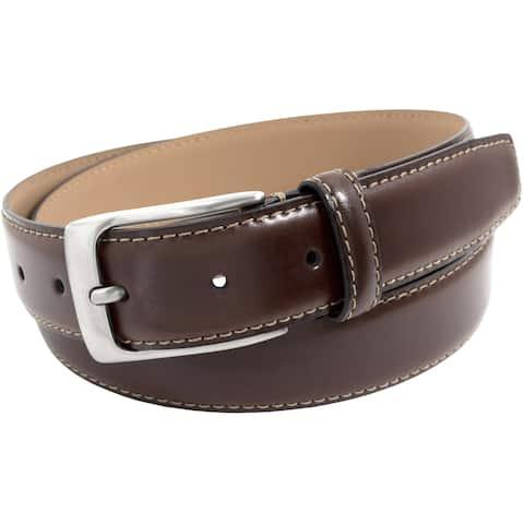Florsheim Men's Brown Italian Leather Belt