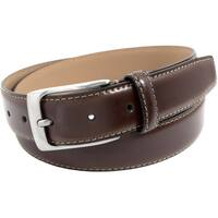 Florsheim Men's Brown Italian Leather Belt