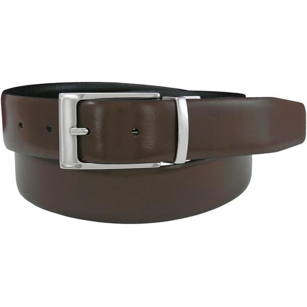 Shop Florsheim Men s Reversible Black Brown Full-grain Italian Leather  Feather Edge Belt - Free Shipping On Orders Over  45 - Overstock.com -  14536268 83f81c1ea0