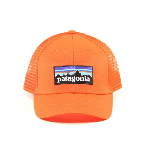 79455269256d6 Shop Patagonia Campfire Orange P 6 LoPro Trucker Hat - Free Shipping ...