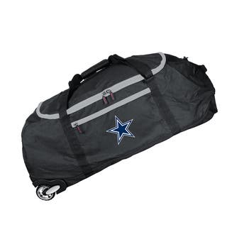 Denco Sports Dallas Cowboys Black 36-inch Collapsible Rolling Duffel Bag|https://ak1.ostkcdn.com/images/products/14536318/P21088850.jpg?impolicy=medium