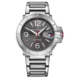 Tommy Hilfiger Turbo Silver/Grey Stainless Steel Men's Watch