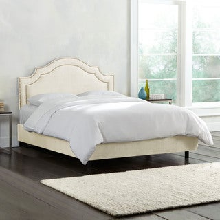 Nail Button Bed in Regal Velvet- Skyline Furniture