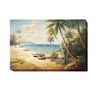 Roberto Lombardi 'Paradise Bay' Gallery-Wrapped Canvas Giclee Wall Art