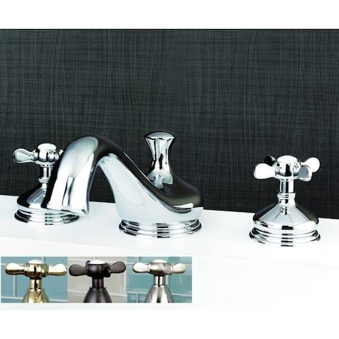 Vintage Cross-Handle Roman Tub Bathroom Faucet