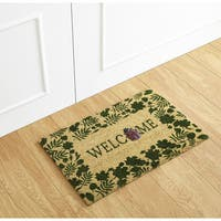 Lady Bug Welcome Coir Mat