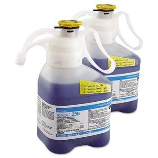Diversey Virex II 256 One-Step Disinfectant Cleaner Deodorant Mint 1.4L 2 Bottles/Carton