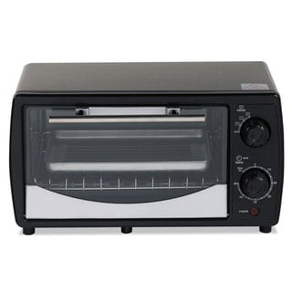 Avanti Toaster Oven 0.32 cu ft Capacity Stainless Steel/Black 14 1/2 x 11 1/2 x 8