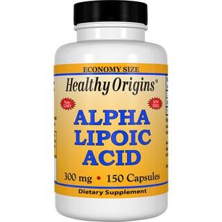 Healthy Origins Alpha Lipoic Acid 300 mg (150 Capsules)