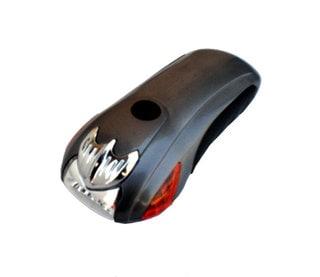 Self-powered 5 LED Flashlight with Blinking Option