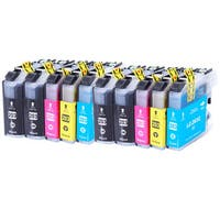 Ink Cartridge Set for Brother LC203 XL MFC J460DW J480DW J485DW (Set of 10)