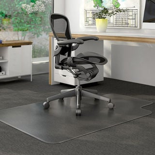 PVC Matte Home Use Transparent Protective Mat for Floor Chair