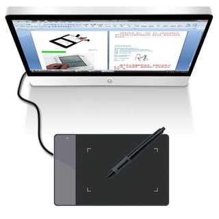 Huion Portable Smart Stylus Digital Tablet 420 Signature Pad Black