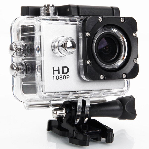 P7 Ultra HD 720P Silver 2-inch 120-Degree Wide-angle Lens Waterproof U.S. Standard Action Camera