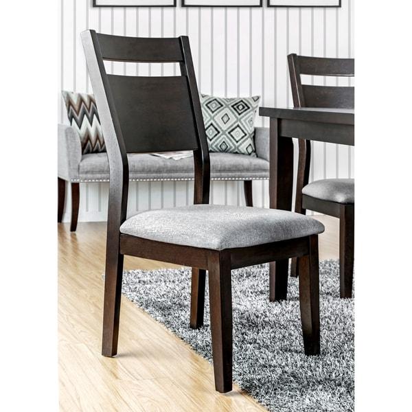 Shop Furniture Of America Nilt Transitional Walnut Dining
