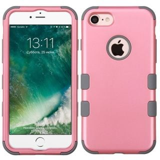 Insten Dual Layer Tuff Hard PC/ Silicone Hybrid Rubberized Matte Case Cover For Apple iPhone 7