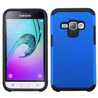 Insten Hard PC/ Silicone Dual Layer Hybrid Rubberized Matte Case Cover For Samsung Galaxy Amp 2/ J1 (2016)