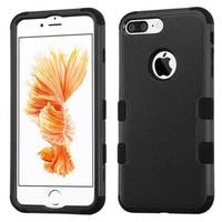 Insten Tuff Hard PC/ Silicone Dual Layer Hybrid Rubberized Matte Case Cover For Apple iPhone 7 Plus