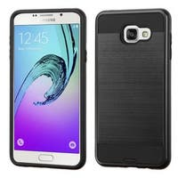 Insten Hard PC/ Silicone Dual Layer Hybrid Rubberized Matte Case Cover For Samsung Galaxy A7 (2016)