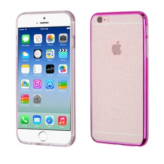 Insten TPU Rubber Candy Skin Glitter Case Cover For Apple iPhone 6/ 6s