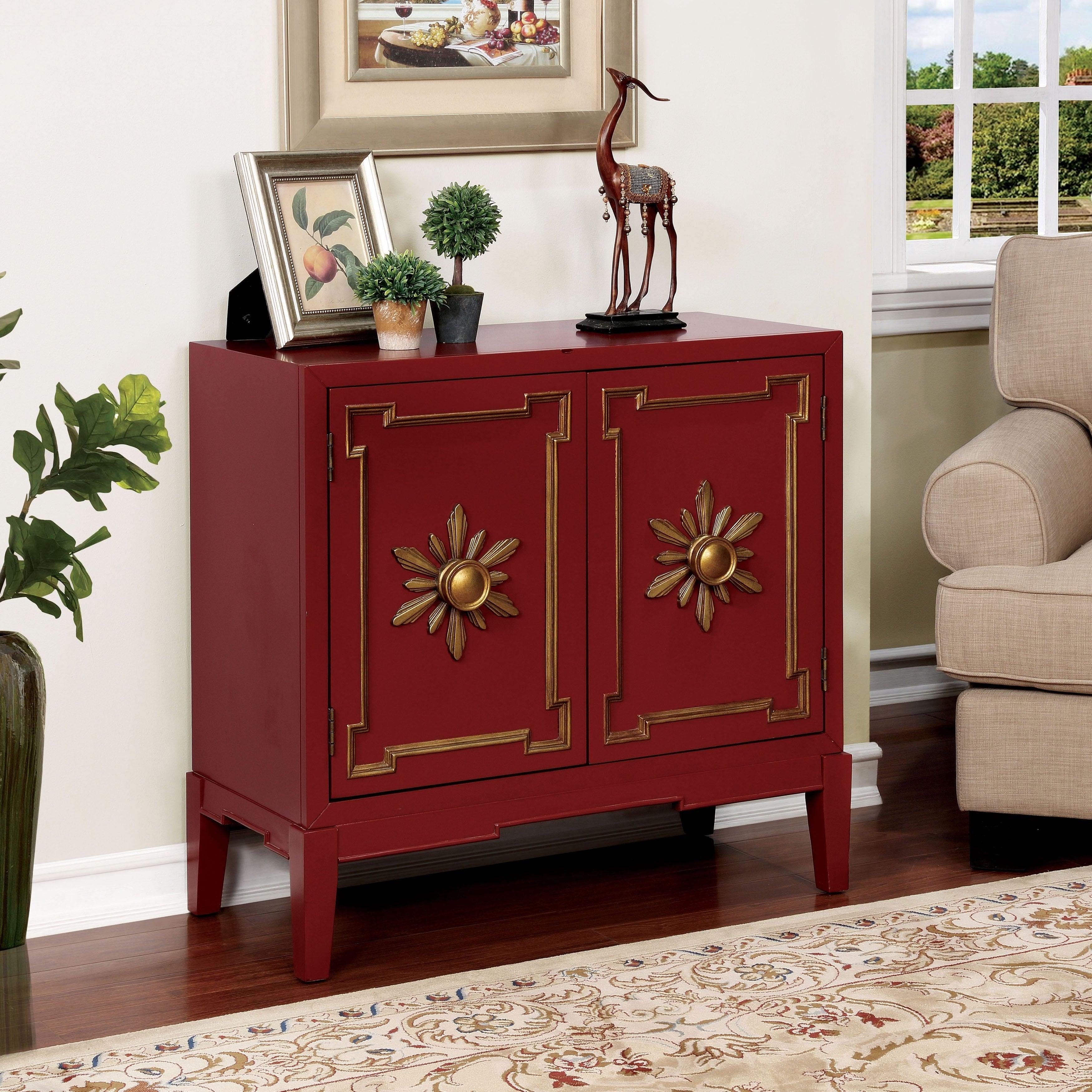 Furniture of America Kerla Vintage 2-shelf Hallway Storag...