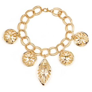 Liliana Bella Goldplated Charm Bracelet