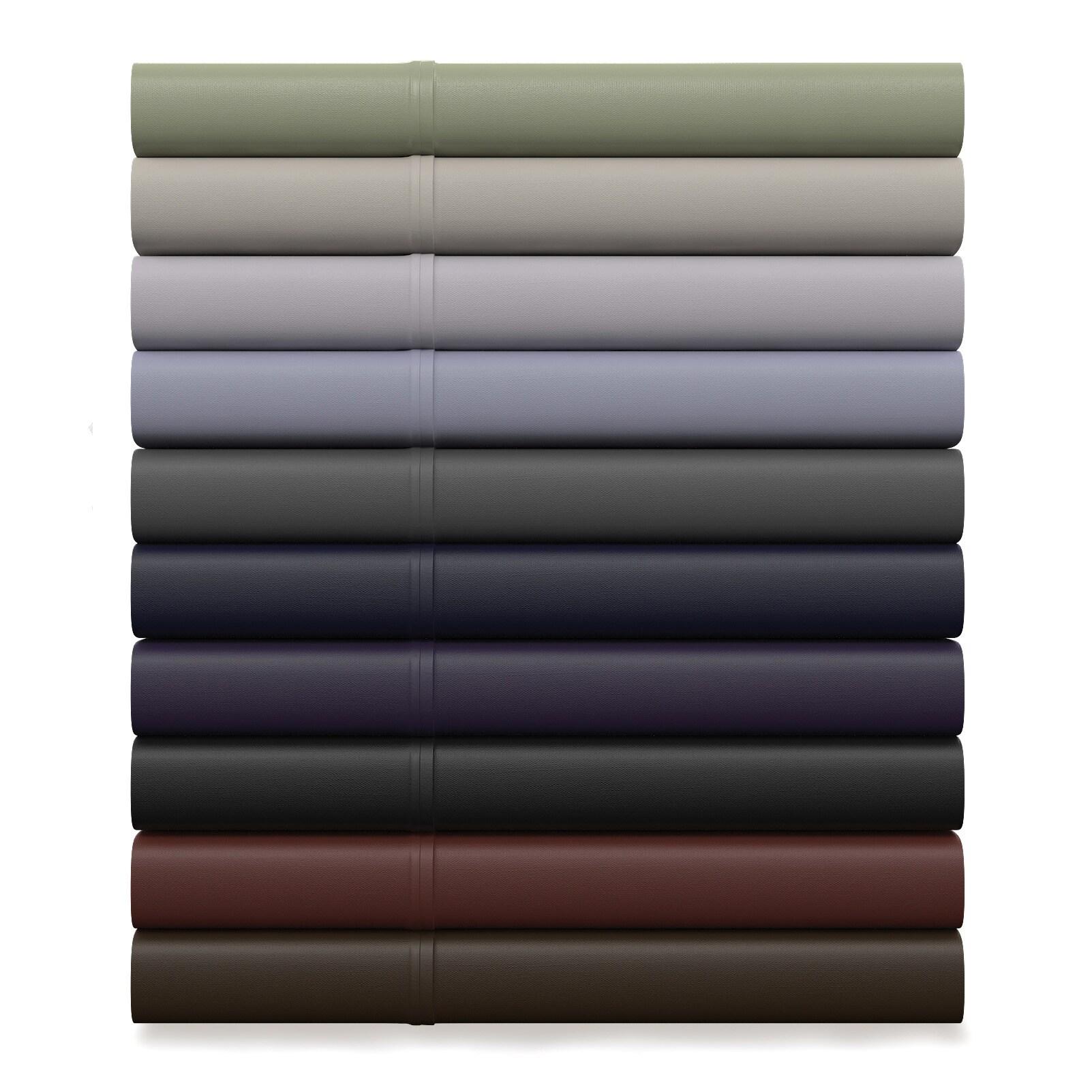 Porch & Den Woodland Springs Haverton Double Brushed Microfiber Flat Sheet