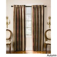 Tuscan Thermal Backed Blackout Curtain Panel Pair in Sage - 84-inch (As Is Item)