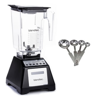 Blendtec Total Classic with WildSide Jar, Black (Certified Refurbished) KIT