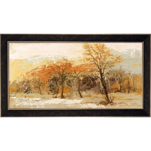 Lucas 'Foresta I' Framed Canvas Art
