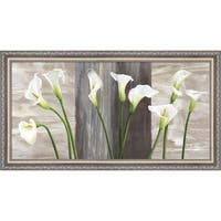 Jenny Thomlinson 'Country Callas' Framed Canvas Art
