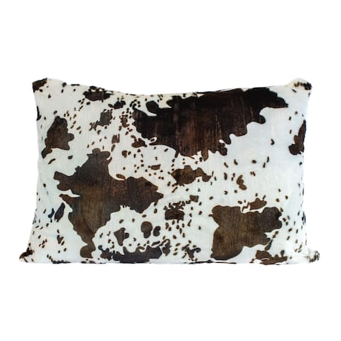 Faux-mink Print Oversized Floor Cushion