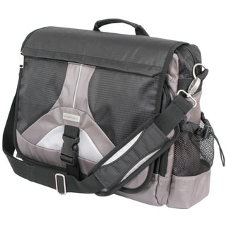 Link to Geoffrey Beene Tech 17-inch Laptop Messenger Bag Similar Items in Messenger Bags