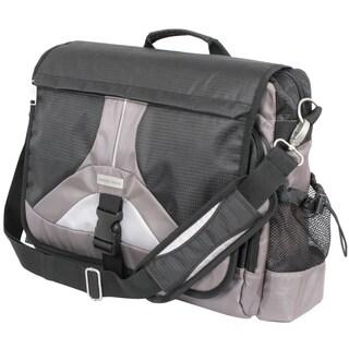 Geoffrey Beene Tech 17-inch Laptop Messenger Bag