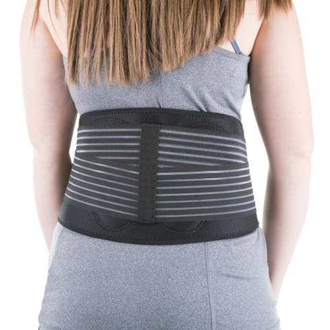 Bluestone Neoprene Lower Back Adjustable Support Brace