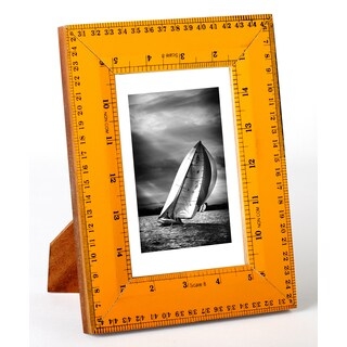 "Recycled Ruler 4x6"" Photo Frame"