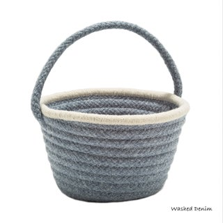 Colonial Mills Easter Soft Wool Baskets (Option: Blue)