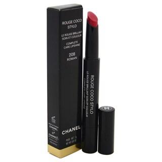 Chanel Rouge Coco Stylo Complete Care Lipshine 208 Roman