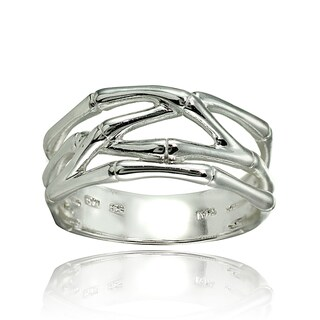 Link to Mondevio Sterling Silver High Polished Bone Wrap Ring Similar Items in Rings