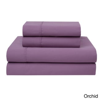 Wrinkle Free 420 Thread Count Cotton Sheet Set (More options available)
