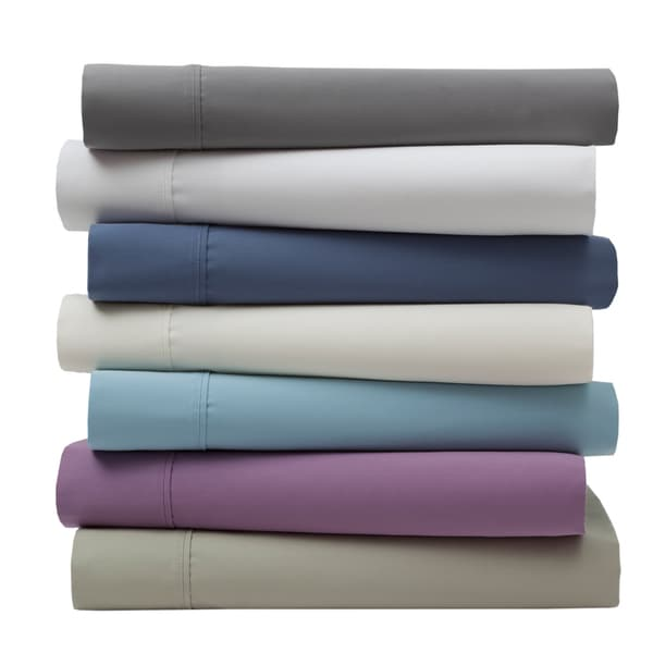 Wrinkle Free 420 Thread Count Cotton Bed Sheet Set. Opens flyout.