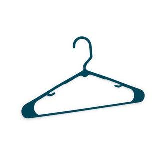 HPI Holmz Closet Blue Plastic Hangers (Pack of 10)