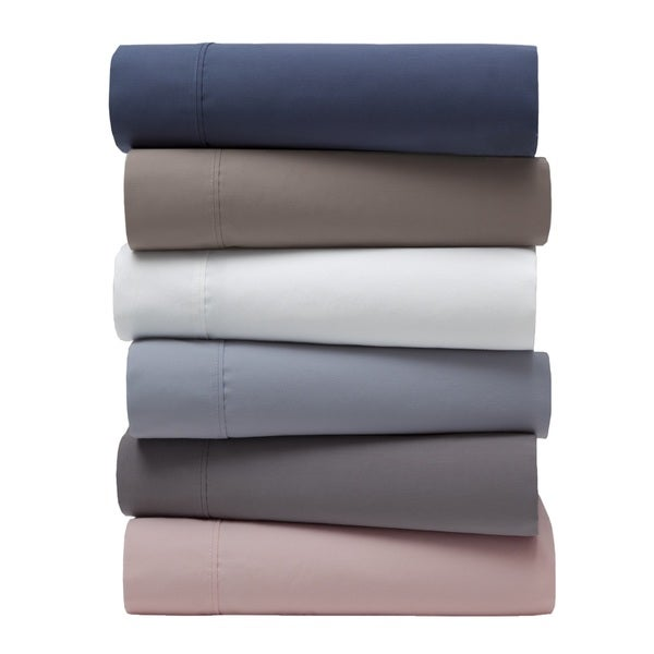 Garment Washed 300 Thread Count Cotton Percale Sheet Set
