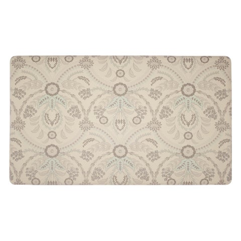 Laura Ashley Almeida Anti-Fatigue Gelness Duck Egg Kitchen Mat - 20 x 32 in.
