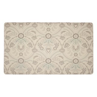 Laura Ashley Almeida Anti-Fatigue Gelness Duck Egg Kitchen Mat - (20 x 32 in.)