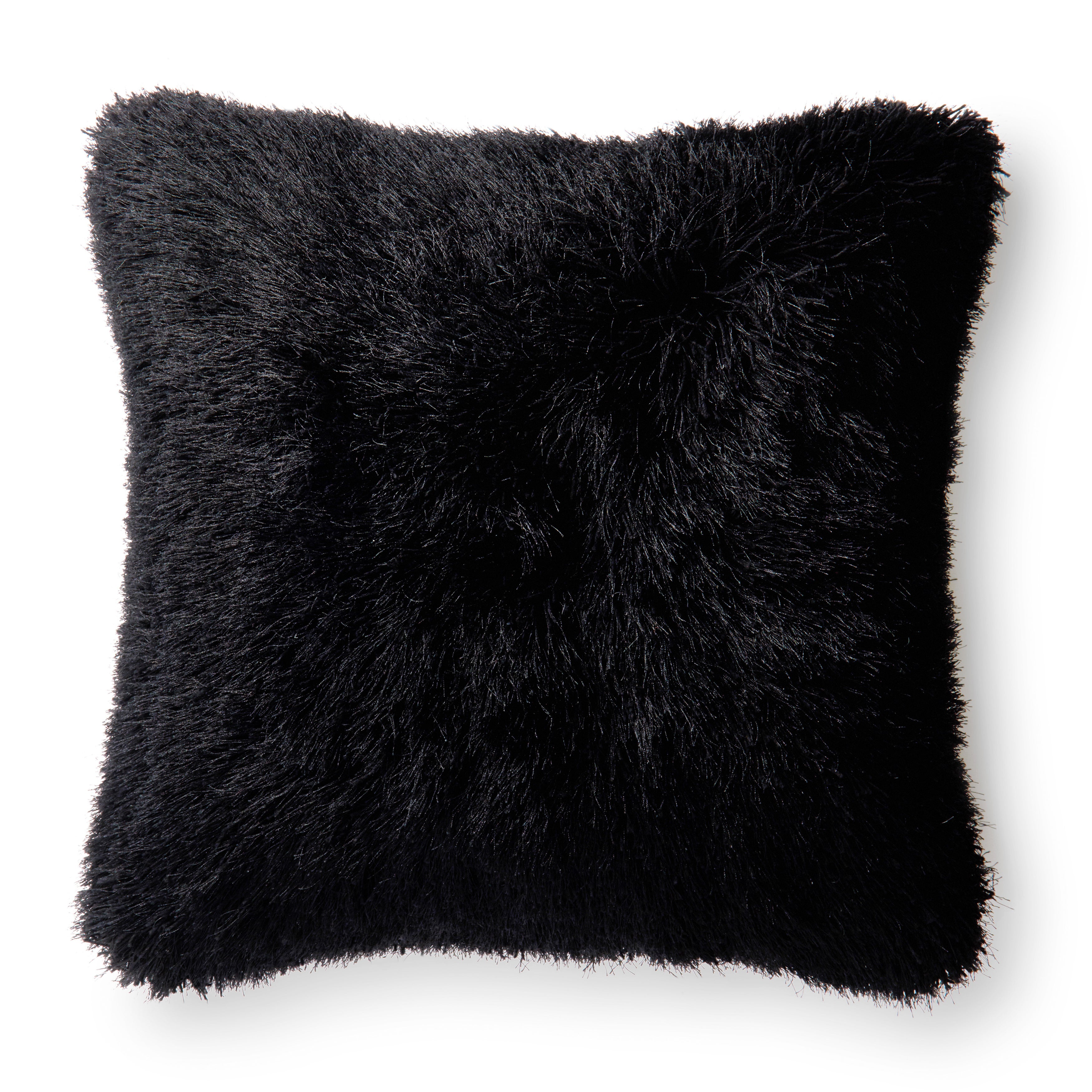 Luxe Solid Color 22 Inch Throw Pillow