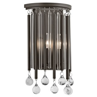 Kichler Lighting Piper Collection 2-light Espresso Wall Sconce