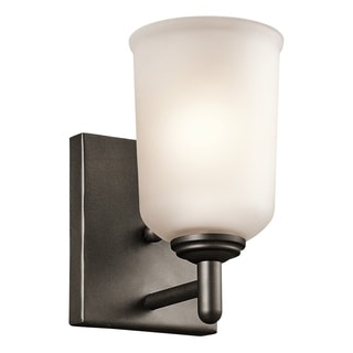 Kichler Lighting Shailene Collection 1-light Olde Bronze Wall Sconce