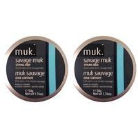 Muk Savage Muk 1.76-ounce Styling Mud (Pack of 2)