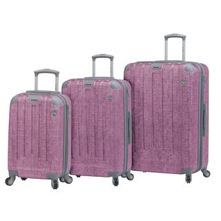 Mia Toro ITALY Cestino 3-piece Hardside Spinner Luggage Set